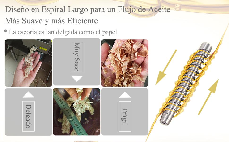 CGOLDENWAL Prensa de Aceite Electrónica 1500W Acero Inoxidable Máquina de Prensa de Aceite丨Prensa Fría & Caliente丨para coco lino cáñamo kiwi lino cacahuetes丨Certificado CE 220V: Amazon.es: Hogar