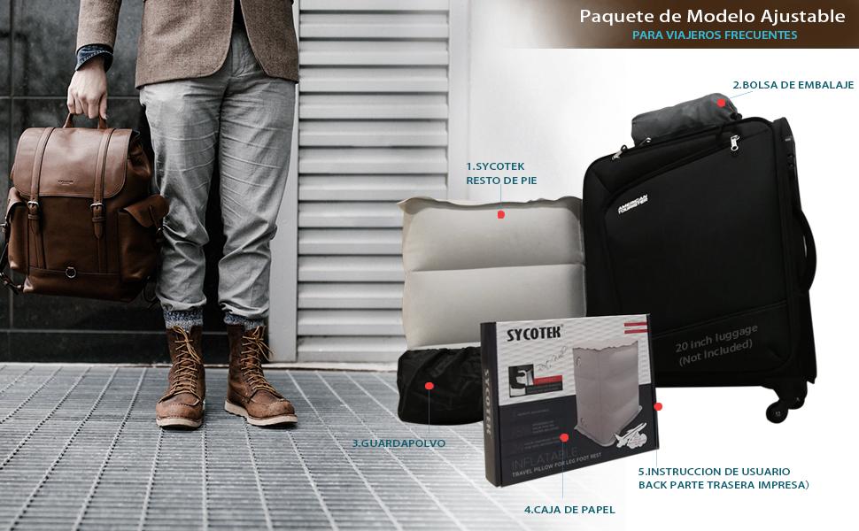 Extremidades del equipaje de mano de la vía aérea británica