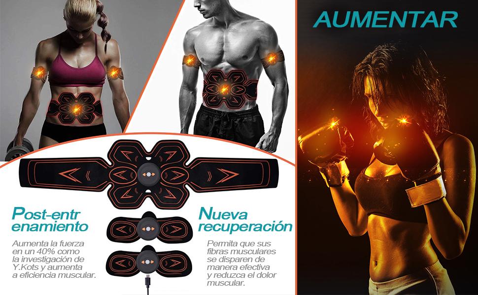 SYCOTEK El estímulo eléctrico del músculo aumenta tu post-entrenamiento y recuperación grandemente!