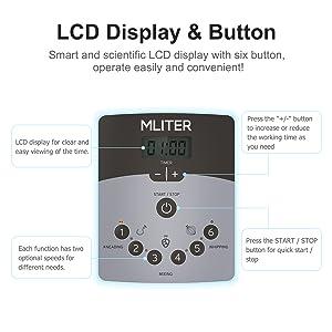 Pantalla LCD & 6 Velocidades