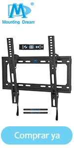 Mounting Dream ultra delgado Soporte TV Inclinable Soporte de Pared 6–55 Pulgadas MD2268-MK-02