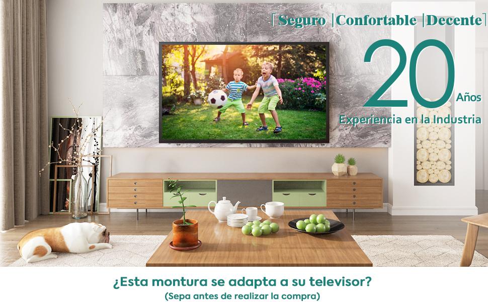 Soporte de Pared TV Mounting Dream Giratorio y Inclinable Giratorio y Inclinable 26–55 MD2377-02
