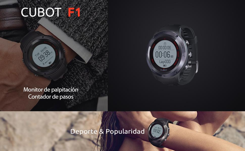 CUBOT F1: Amazon.es: Deportes y aire libre