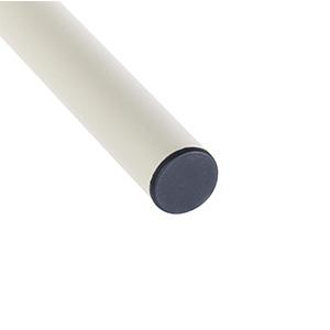 Aingoo de Cama de Cama de Metal con Listones de Madera Cama de un día con Patas Fuertes y cabecero para 105 * 190 cm Colchón Blanco