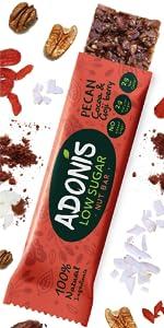 Pecanas sin gluten low carb cetogénica nuez paleo vegano baja en azucar keto saludable chocolate