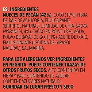 low carb snack bar sin adición de azúcar keto proteínica vegetariano cetogénica sin gluten vegano