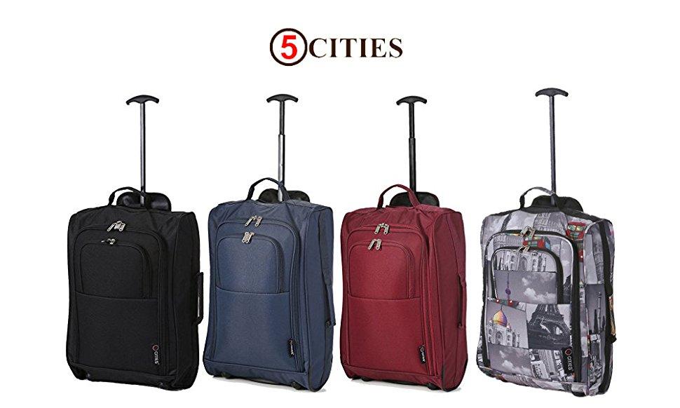 Las maletas y mochilas 5 Ciudades son el compañero de viaje perfecto para cualquier jetsetter. Disponibles en una variedad de estilos y colores, ...