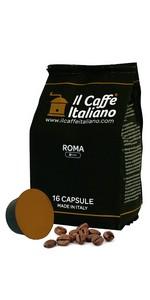 96 Cápsulas de café compatibles con maquinas Dolce Gusto® - kit degustación de Il Caffè Italiano - FRHOME: Amazon.es: Alimentación y bebidas