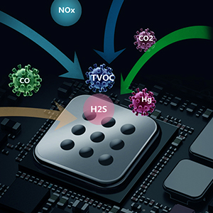 Todo tipo de sensores de contaminación del aire