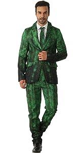 EraSpooky Blazer Hombres Traje de Tigre Vestido de Fiesta: Amazon ...