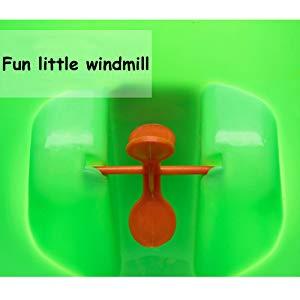 Verde Orinal de entrenamiento de ranas lindas perfectas para ni/ños con objetivo divertido El orinal para beb/és VIPMOON Boys
