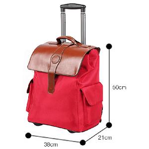 Base reforzada que le aporta mayor estabilidad a la mochila además de protegerla del roce.