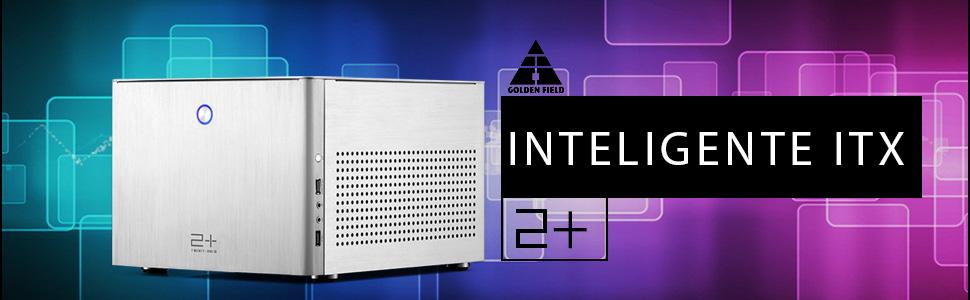 GOLDEN FIELD N-2S Micro ATX/Mini ITX Mid-Torre Caja de la