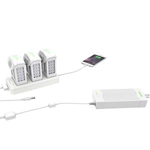 Smatree Cargador Multifuncional de Batería para DJI Phantom 4 / 4 ...