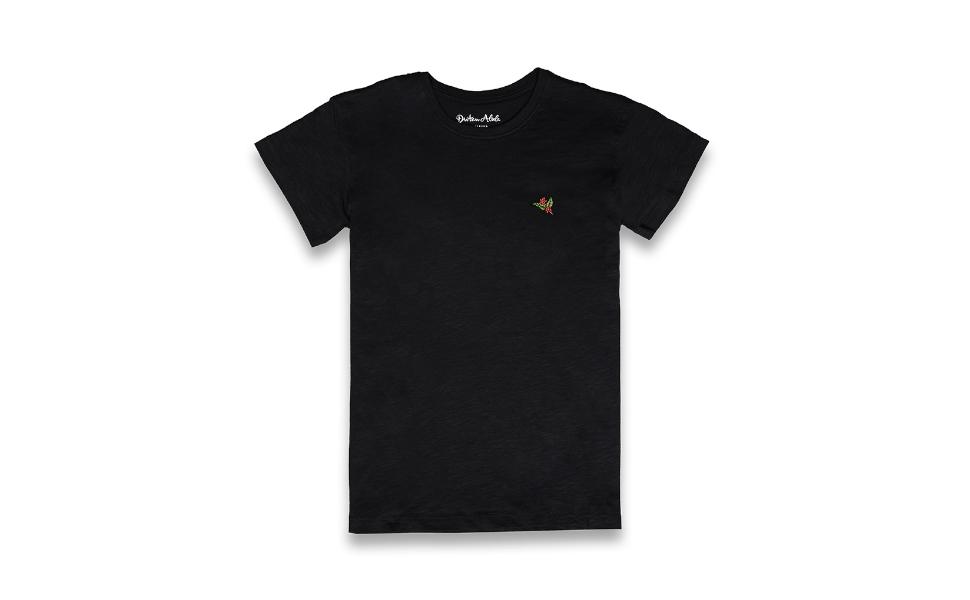 Dritan Alsela Coffee Plant Hombre Camiseta Negro: Amazon.es: Ropa y accesorios