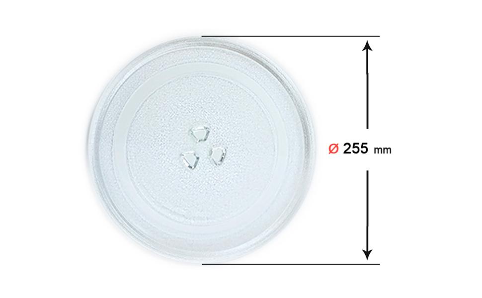 Recamania Plato Giratorio microondas Balay Daewoo diametro 255 mm ...