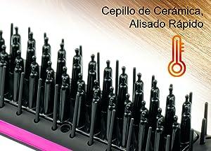 APALUS ® Cepillo Alisador de Pelo Profesional, Plancha Ceramico, Liso Perfecto y Rápido, Visor Digital, hasta 230 Grados, Control de Temperatura