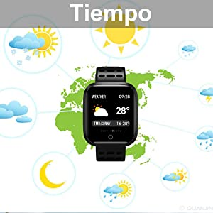 Reloj Inteligente, KUNGIX Smartwatch Pulsera Actividad Inteligente ...