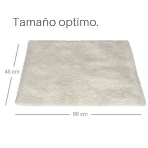 PiuPet® Manta térmica para Gatos & Perros, Tamaño: 60x45 cm, Autocalentado - sin Electricidad y baterías, Cojín de Calor, Innovador e ecológico
