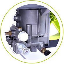 AUTLEAD Hidrolimpiadora Gasolina, GSH01A 220 Bar/3200 PSI, 590 L/H, 6.5 HP 196cc Potente Motor, Limpiadora Alta Presión, 4 Boquillas Diferentes