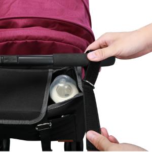 Bolso organizador silla de paseo en negro