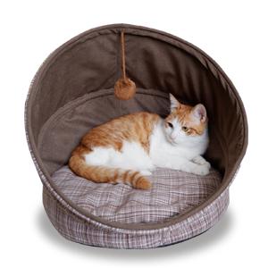 Fitgorush Cama para mascotas plegable se dedica a crear un ambiente de descanso seguro y cómodo para sus mascotas, brindándole más diversión.