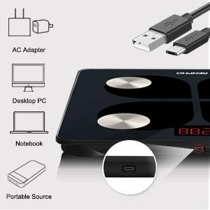 USB Báscula para Baño Digital