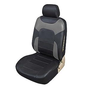 Funda de asiento delantero en gris