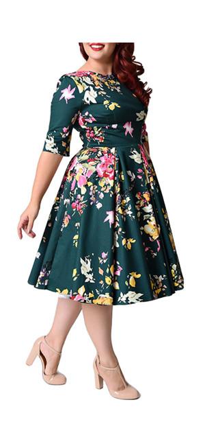 Los años 50 de la vendimia sobre el estilo de Hepburn Tiene tallas completas desde S hasta 5XL,siempre hay una para usted