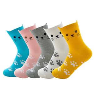 Pack: 5/6 pares de calcetines estampados con dibujos animados.