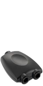 Conector Hembra a Mini Conector Macho Toslink Cable Tos Enchufe en /ángulo Recto por Cable de Audio Digital /óptico Toslink Cable S//PDIF Poppstar 2X Toslink Acopladores angulados a 90/°
