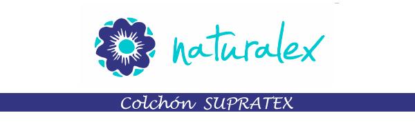 Colchón Supratex - Espuma Latex Blue Latex - Soporte HR aquapur - 7 Zonas de Confort - 17 cm - 90 x 190 cm