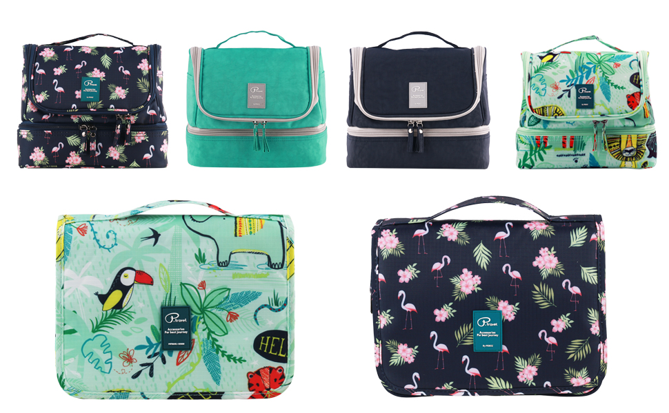 35d574c22 Tuscall Bolsas de aseo - Una bolsa cosmética impermeable ultra-ligera para  su uso en el hogar, viajes u otras actividades al aire libre