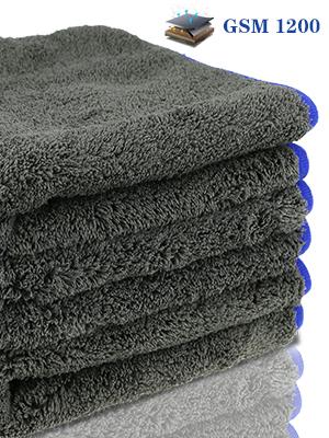 Valeting X3 Aparato de choque Paño de Microfibra Paño Detalle De Coche 40X40CM Ribete suave