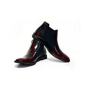 Para fabricar los zapatos utilizamos solo los cueros italianos de la más alta calidad: de bovino, de ternera y de caprino. Normalmente usamos el cuero liso, ...