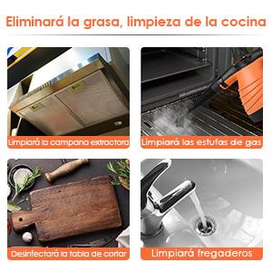 SIMBR Limpiador Vapor (Naranja-O, 350 ml): Amazon.es: Hogar