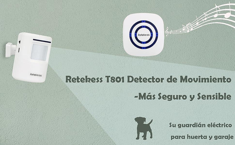 Retekess T801 Detector de Movimiento