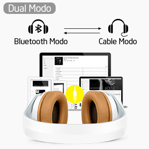 ELEGIANT Cascos Bluetooth 5.0 Inalámbricos, Auriculares Bluetooth Diadema  con Micrófono CVC 6.0 Cancelación Ruido Manos Libre Sonido Nítido Estéreo  16H de Duración ...