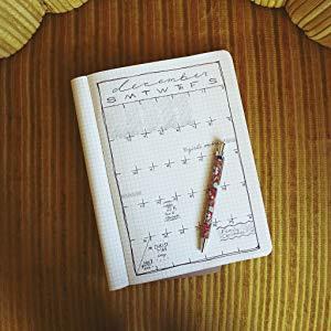 Libreta / Cuaderno para gráficos | Notebook de hojas a cuadros | Páginas de Papel Grueso Premium | 7x10 | Hecho en USA