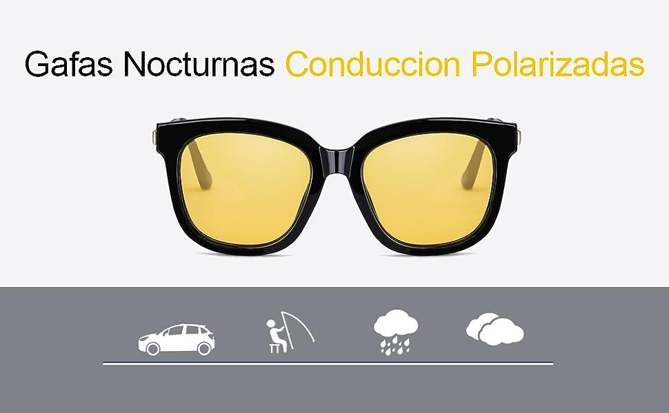 gafas amarillas conduccion