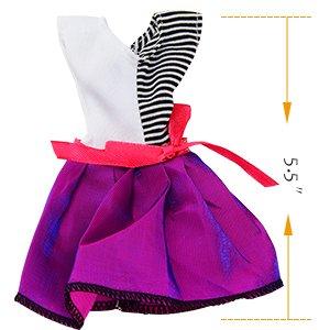 Amazon.es: Asiv 20 Piezas Ropa y Zapatos para Muñeca Doll - 10 ...