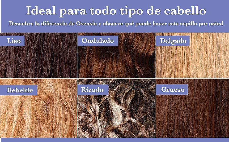 ¡Mejore la salud del cabello con cada cepillado! Nuestro cepillo con infusión de iones le da a su cabello un brillo increíble mientras se desenreda ...