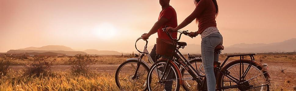 BIWBIK Bicicleta ELECTRICA Mod. GANTE BATERIA Ion Litio 36V12AH (GANTE White HD): Amazon.es: Deportes y aire libre
