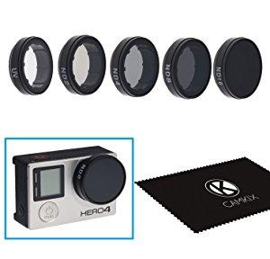 CamKix Paquetes de Filtro Cinematografico para GoPro HERO 4 / 3+