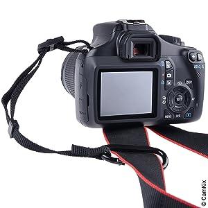 3X Atadura de la cámara con mosquetón – Doble asegure su cámara ...