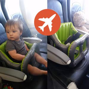 Airtushi - Asiento Elevador Trona para Niño, Bebé, inflable portátil Alzador
