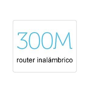 Router inalámbrico de 300 Mbps