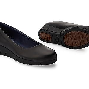 f7654854da29a Oneflex Camile Negro - Zapatos anatómicos cómodos para Mujer  Amazon ...