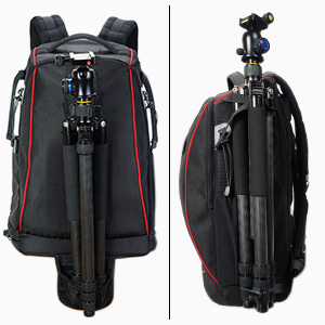 CADeN Mochila Camara Reflex Profesional - con Protector contra la Lluvia candado antirrobo con Capacidad para 2 cámaras 7 Lentes 1 trípode y Otros ...