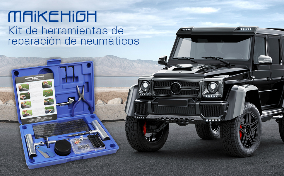 Kit de Reparación para Neumáticos Pesados